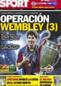 Portada diario Sport del 19 de Septiembre de 2012