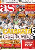 Portada diario AS del 20 de Septiembre de 2012