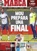 Portada diario Marca del 22 de Septiembre de 2012
