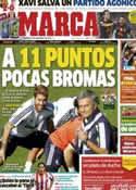 Portada diario Marca del 23 de Septiembre de 2012