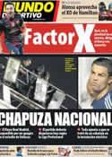 Portada Mundo Deportivo del 24 de Septiembre de 2012