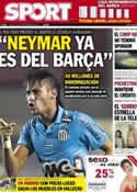 Portada diario Sport del 25 de Septiembre de 2012