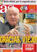 Portada diario AS del 26 de Septiembre de 2012