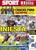 Portada diario Sport del 26 de Septiembre de 2012