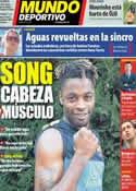 Portada Mundo Deportivo del 26 de Septiembre de 2012