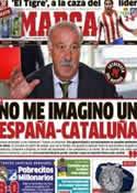 Portada diario Marca del 27 de Septiembre de 2012