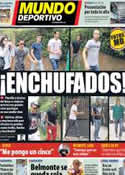 Portada Mundo Deportivo del 27 de Septiembre de 2012
