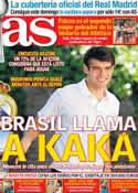 Portada diario AS del 28 de Septiembre de 2012