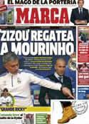 Portada diario Marca del 28 de Septiembre de 2012