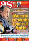 Portada diario AS del 29 de Septiembre de 2012