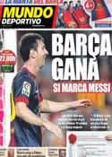 Portada Mundo Deportivo del 29 de Septiembre de 2012