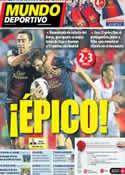 Portada Mundo Deportivo del 30 de Septiembre de 2012