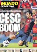 Portada Mundo Deportivo del 1 de Octubre de 2012