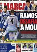 Portada diario Marca del 2 de Octubre de 2012