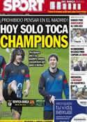 Portada diario Sport del 2 de Octubre de 2012