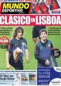 Portada Mundo Deportivo del 2 de Octubre de 2012