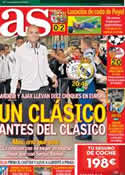 Portada diario AS del 3 de Octubre de 2012