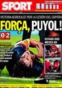 Portada diario Sport del 3 de Octubre de 2012
