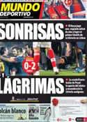 Portada Mundo Deportivo del 3 de Octubre de 2012