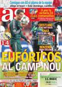 Portada diario AS del 4 de Octubre de 2012