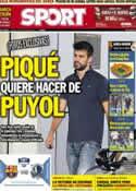 Portada diario Sport del 4 de Octubre de 2012