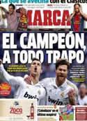 Portada diario Marca del 5 de Octubre de 2012