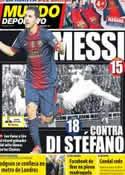 Portada Mundo Deportivo del 5 de Octubre de 2012