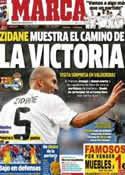 Portada diario Marca del 6 de Octubre de 2012