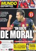 Portada Mundo Deportivo del 6 de Octubre de 2012