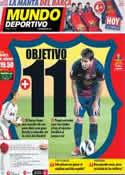 Portada Mundo Deportivo del 7 de Octubre de 2012