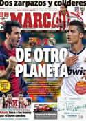 Portada diario Marca del 8 de Octubre de 2012