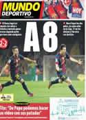 Portada Mundo Deportivo del 8 de Octubre de 2012