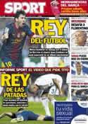 Portada diario Sport del 9 de Octubre de 2012