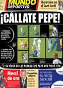 Portada Mundo Deportivo del 9 de Octubre de 2012