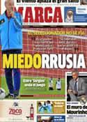 Portada diario Marca del 10 de Octubre de 2012