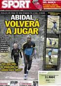 Portada diario Sport del 10 de Octubre de 2012