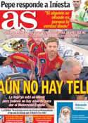 Portada diario AS del 11 de Octubre de 2012