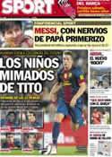 Portada diario Sport del 11 de Octubre de 2012