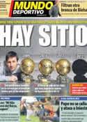 Portada Mundo Deportivo del 11 de Octubre de 2012