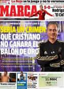 Portada diario Marca del 12 de Octubre de 2012