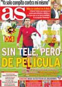 Portada diario AS del 13 de Octubre de 2012