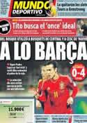 Portada Mundo Deportivo del 13 de Octubre de 2012
