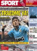 Portada diario Sport del 15 de Octubre de 2012