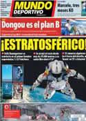 Portada Mundo Deportivo del 15 de Octubre de 2012