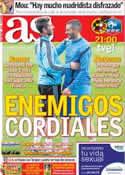 Portada diario AS del 16 de Octubre de 2012