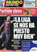 Portada Mundo Deportivo del 16 de Octubre de 2012