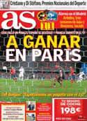 Portada diario AS del 17 de Octubre de 2012