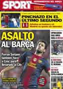 Portada diario Sport del 17 de Octubre de 2012