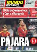 Portada Mundo Deportivo del 17 de Octubre de 2012