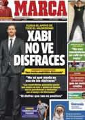 Portada diario Marca del 18 de Octubre de 2012